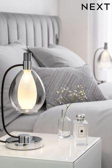 Chrome Carson Touch Table Lamp