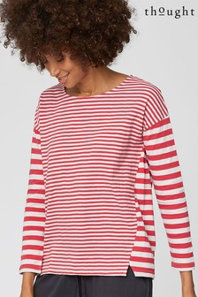 Thought Pink Stripy Tee