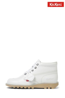 Kickers® White Kick Hi Classic Boots