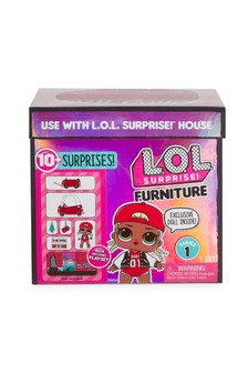 L.O.L. Surprise! Furniture Pack Bedroom With Neon Q.T.