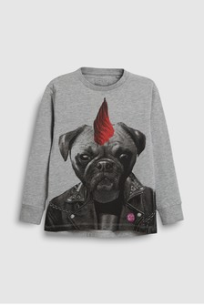 Pug Rock T-Shirt (3-16yrs)