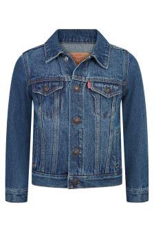 Kids Blue Cotton Jacket