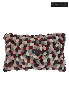 Petals Textured Cushion by Riva Home
