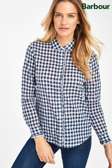 Barbour® Heritage Navy Frill Mill Shirt