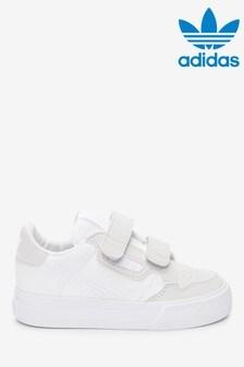 נעלי ספורטContinental80Vulc לבנות לפעוטות של adidas Originals