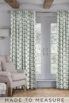 Bailey Green Made To Measure Curtains