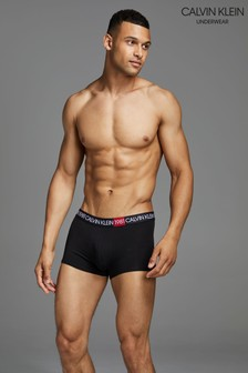 Calvin Klein Black 1981 Bold Cotton Trunks