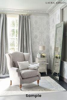 Laura Ashley Josette Metallic Wallpaper Sample
