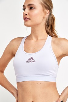 adidas Lilac Don't Rest Alphaskin Padded Bra