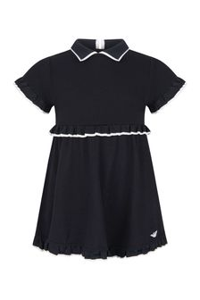 Emporio Armani Baby Girls Navy Dress