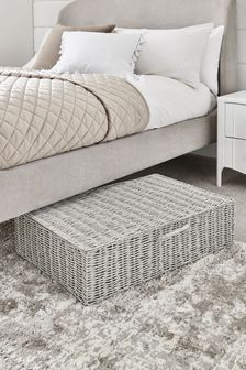 Plastic Wicker Underbed Storage