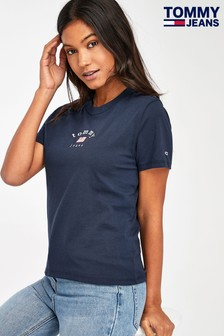 Tommy Jeans Blue Essential Americana T-Shirt