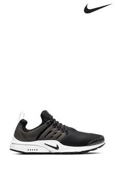 Nike Black/White Presto Fly Trainers