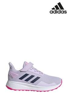 adidas Run Lilac Durmao 9 Junior Trainers