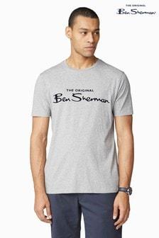 Ben Sherman Grey Signature Logo T-Shirt