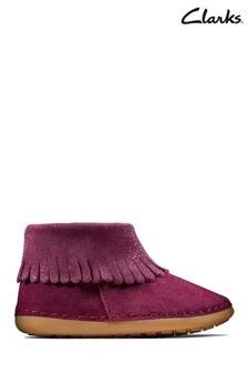 Clarks Purple Skylark Form T Boots