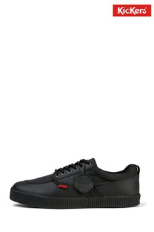Kickers® Black Tovni Flex Trainers