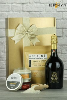 Prosecco & Bath Time Goodies Gift Set by Le Bon Vin