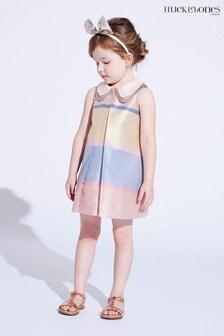 Hucklebones Pink Stripe Shift Dress