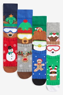 Animals Socks Four Pack