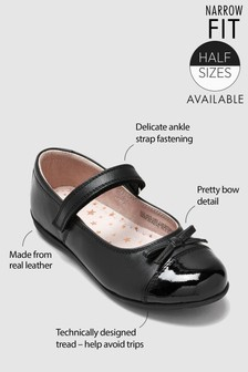 Patent Toe Cap Mary Jane Shoes (Older)