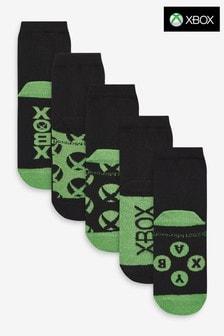 5 Pack Cotton Rich Xbox Socks