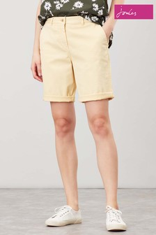 Joules Straw Cruise Longer Length Chino Shorts