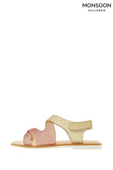 Monsoon Ombre Glitter Mariah Comfort Sandals