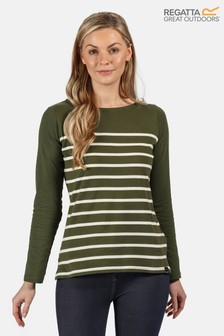 Regatta Green Ferelith Long Sleeved T-Shirt