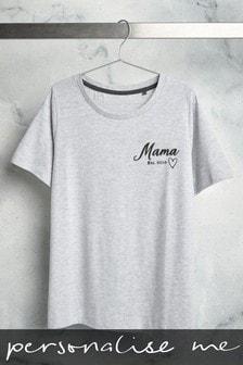 "Personalised ""Mama Est"" T-Shirt"