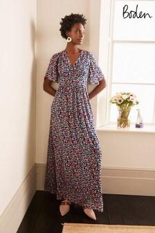 Boden Blue Veronica Maxi Dress