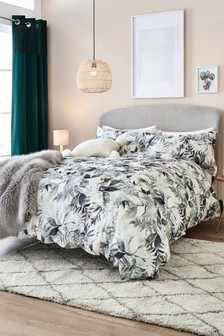 Brushed 100% Cotton Forest Duvet Cover and Pillowcase Set