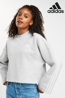 adidas 3 Stripe Must Have Crew Top