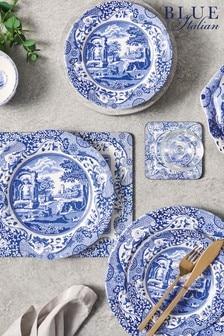 12 Piece Spode Blue Italian Dinner Set