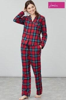 Joules Snooze Woven Pyjama Bottoms