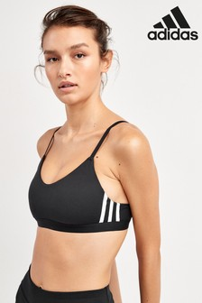 adidas All Me 3 Stripe Light Support Bra