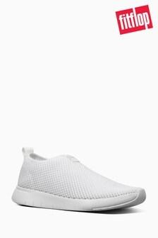 FitFlop™ White Airmesh Slip-On