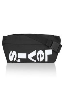 Kids Black Logo Belt Bag