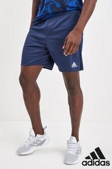 Темно-синие шорты adidas Parma