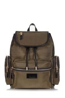 Khaki Kaspar Baby Changing Backpack