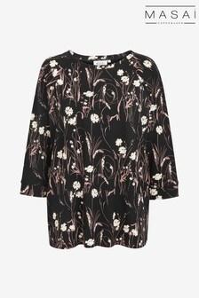 חולצה של Masai דגם Bonnie בשחור