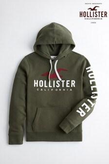 Hollister Large Logo Hoody