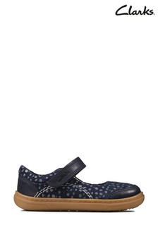 Clarks Blue FlashBright T Shoes