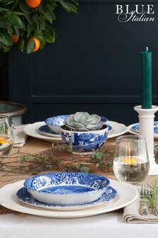 Set of 4 Spode Blue Italian Pasta Bowls