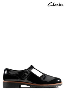 Clarks Black Griffin Town Shoe