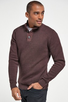 Premium Button Neck Jumper