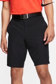 Čierne golfové šortky Nike Flex