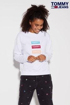 Tommy Jeans Modern Triple Logo Sweatshirt