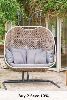 Oslo Double Egg Chair By LG Outdoor