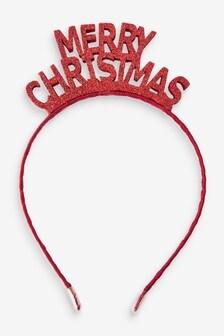 Merry Christmas Headband